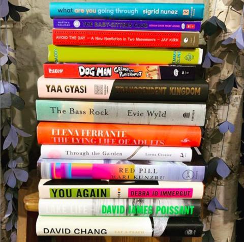 Type Books mystery bag