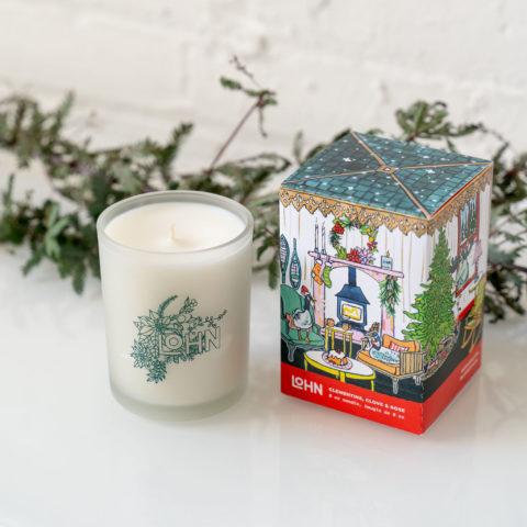 Lohn Holiday Candle