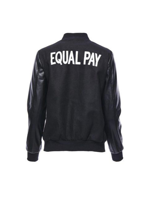 Hilary MacMillan Equal Pay Varsity Jacket