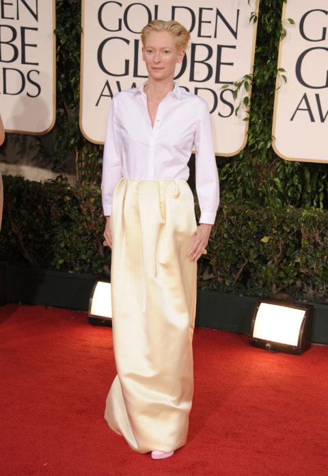 Tilda Swinton 2011 Golden Globe Awards