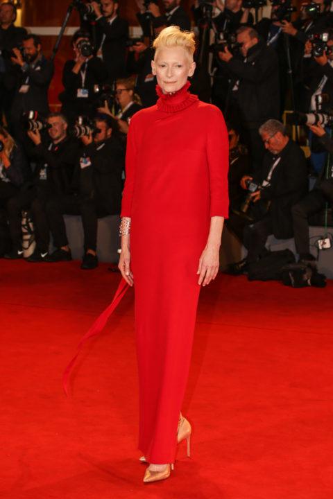 Tilda Swinton Red Carpet