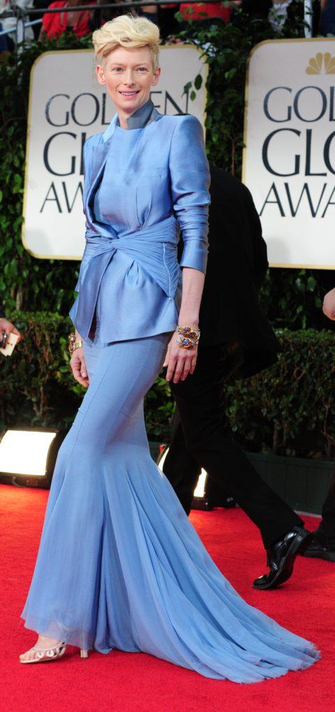 Tilda Swinton Golden Globe Awards