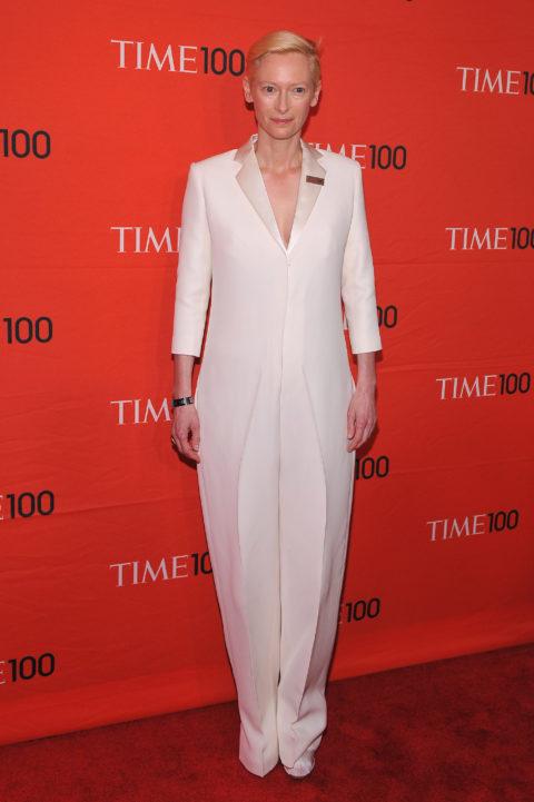 Tilda Swinton 2012 TIME 100 Gala in Celine