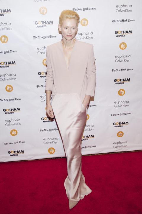 Tilda Swinton 2014 Gotham Independent Film Awards, in Haider Ackermann