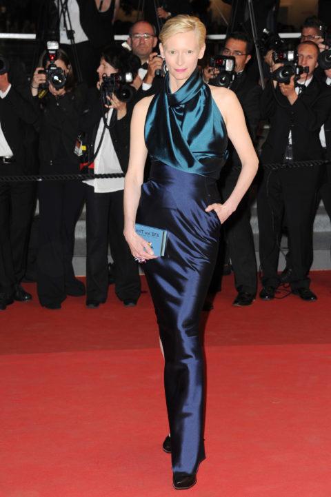 Tilda Swinton Cannes International Film Festival