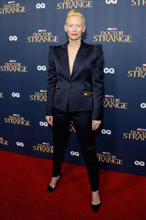 "Tilda Swinton ""Doctor Strange"" premiere"