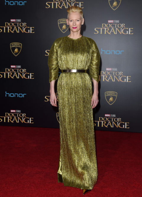 "Tilda Swinton 2016 Premiere of ""Doctor Strange"""