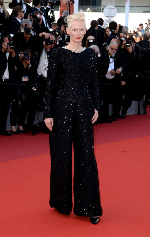 Tilda Swinton 2017 Cannes Film Festival