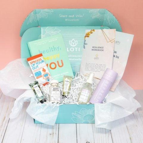 Loti Wellness subscription box