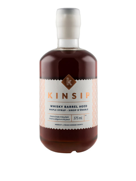 Whisky Barrel-Aged Maple Syrup
