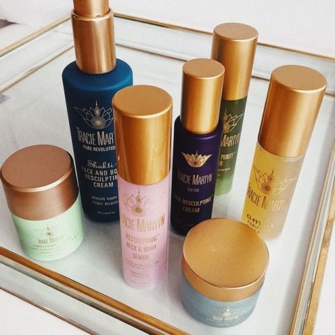 Tracie Martyn skincare products