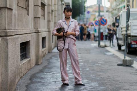 Stylish Pajamas Street Style