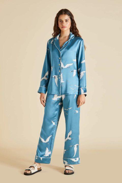 Olivia von Halle stylish Pyjamas