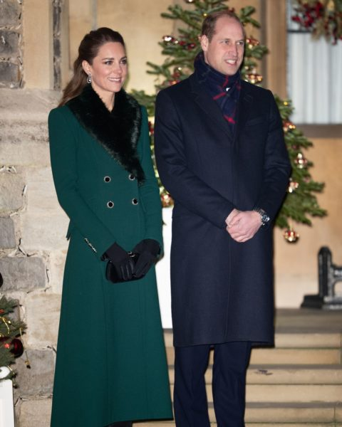 Kate Middleton royal train tour coats