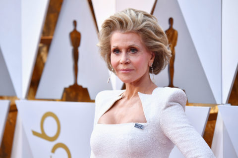 Jane Fonda attends the 90th Annual Academy Awards at Hollywood; Highland Center on March 4, 2018 in Hollywood, California.