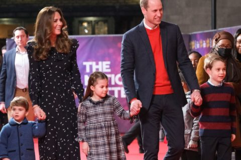 Kate Middleton, Prince William and their kids