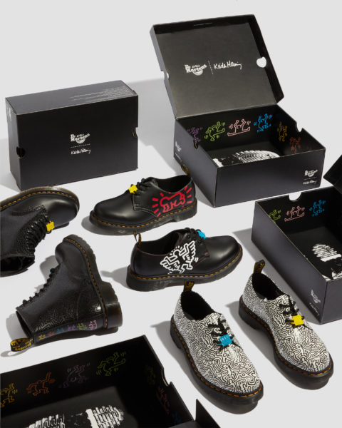 Dr. Martens Keith Harring Shoes