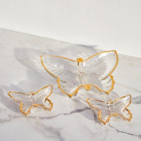 Glassware from vintage shop Opaline Atelier