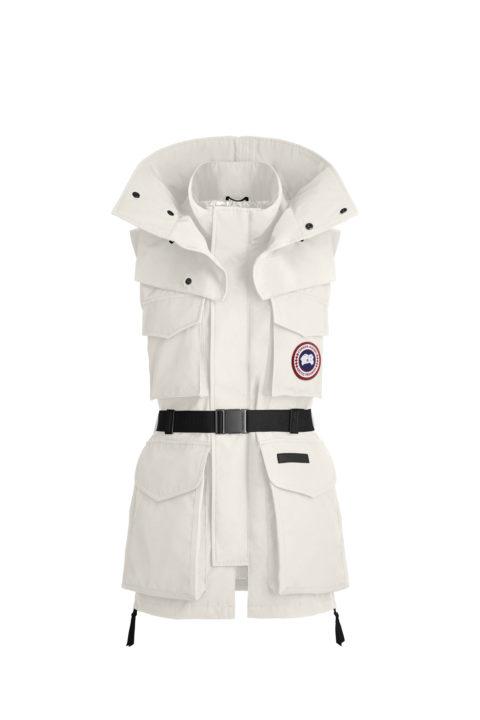 White Chaka Vest