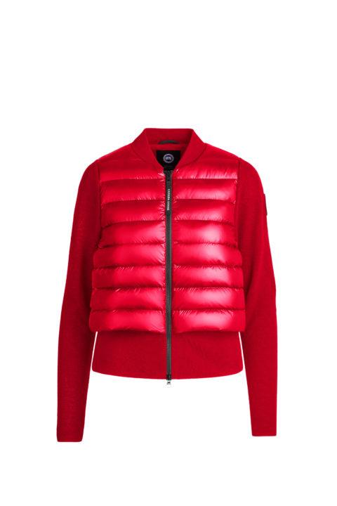 Red Hybridge Knit