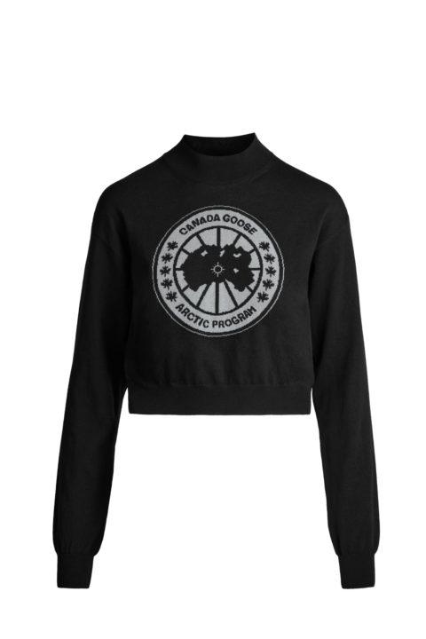 Black women's Logo Sweater