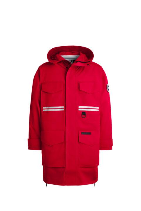 Red Mogan Rain Jacket