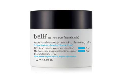 belif Aqua Bomb Makeup Removing Cleansing Balm
