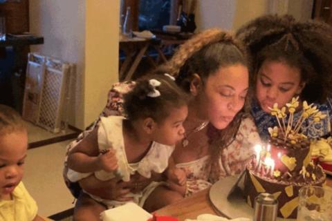 Beyonce and kids