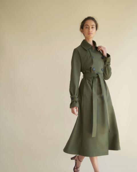 Nonie trench coat