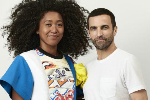 Naomi Osaka and Nicolas Ghesquière