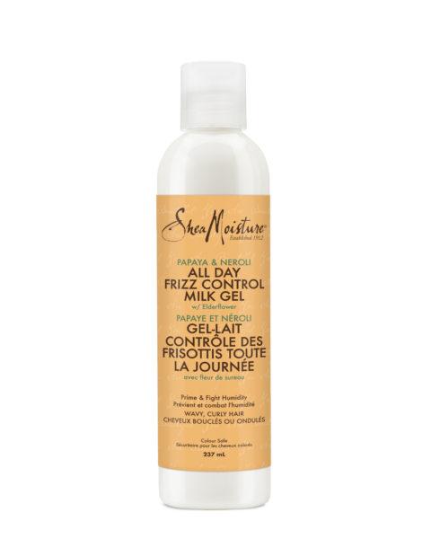 Shea Moisture Papaya & Neroli All Day Frizz Control Shampoo, Conditioner and Milk Gel