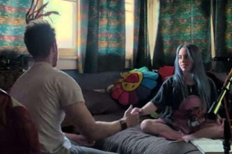 A still from Billie Eilish's documentary