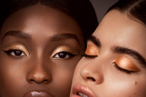 CTZN Cosmetics gold eye shadow, one of the february 2021 beauty launches