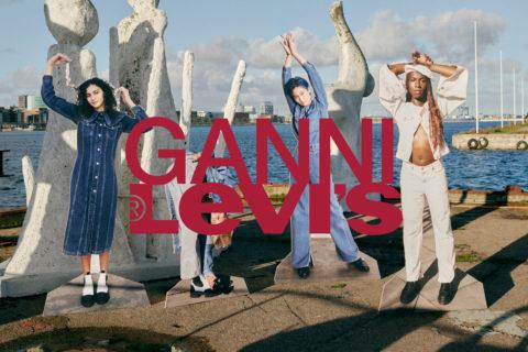 Ganni x Levi's Campaign image