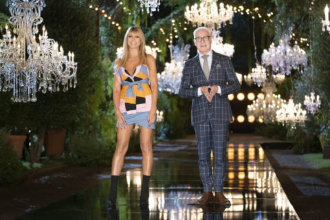 Heidi Klum and Tim Gunn in press imagery for Making the Cut