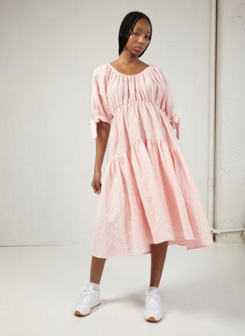 Eliza Faulkner pink dress
