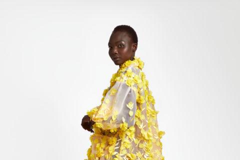 Spring 2021 fashion: Narces 3D floral coat dress