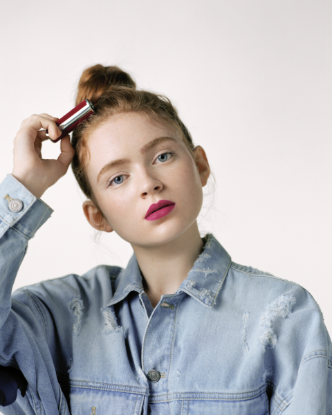 sadie sink interview: sadie x givenchy beauty
