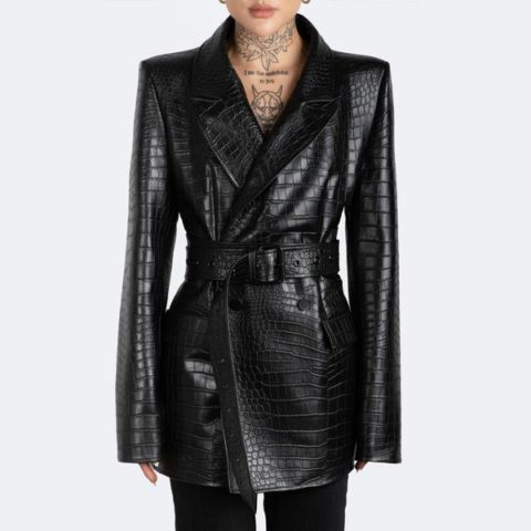 by the namesake kamala black blazer
