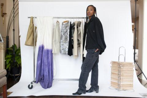 summer ruddock-ellis sustainable wardrobe