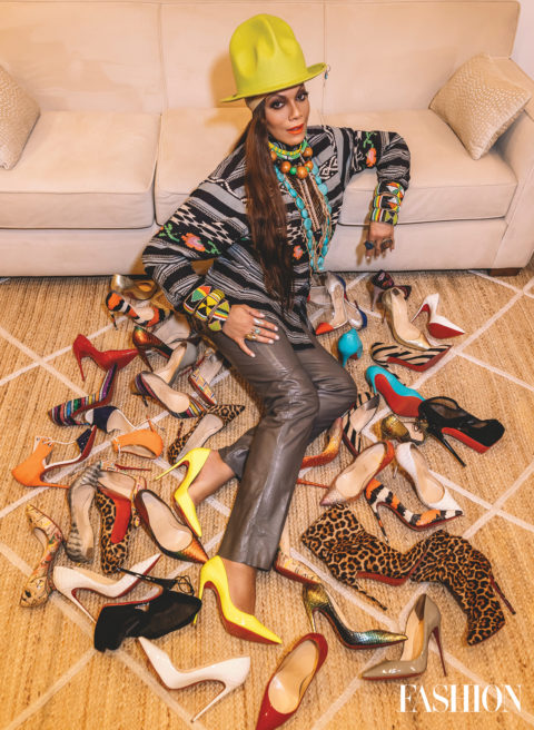 Lina Bradford Has a Assortment of Footwear You Will not Consider Exists