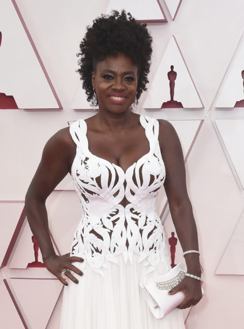 Oscars Beauty Viola Davis
