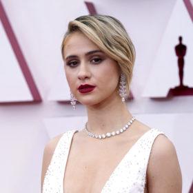 Oscars beauty Maria Bakalova