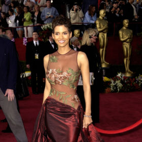best oscar dresses ever: halle berry