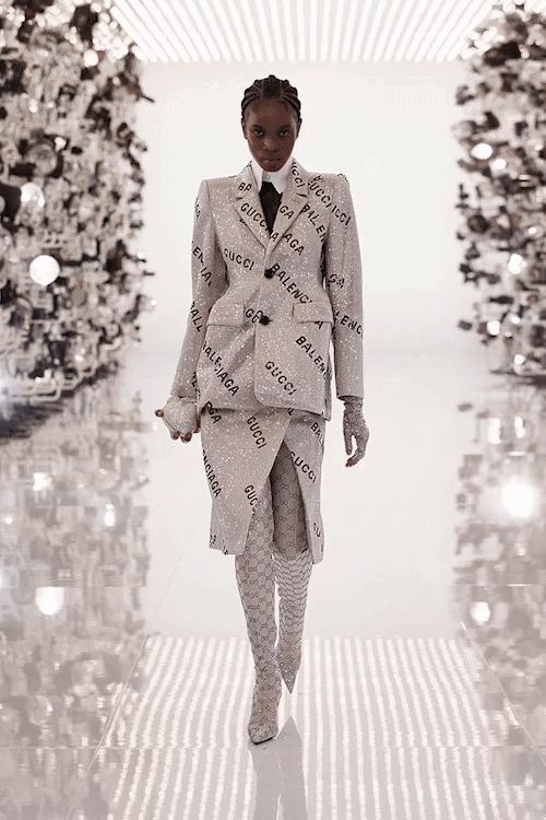Gucci Aria Present: Gucci Boldly Hacks Balenciaga in Aria Assortment