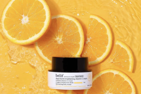 Belif Aqua Bomb Brightening Vitamin C Cream