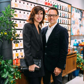 Atelier Cologne founders Sylvie and Christophe