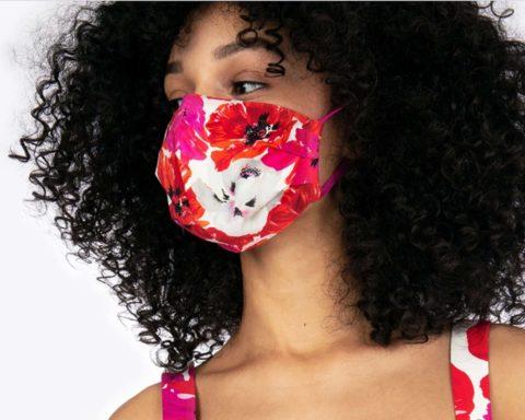 Summer face masks: Tanya Taylor face mask