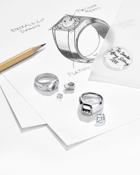 Tiffany & Co. Simply Launched its First Engagement Ring for Males