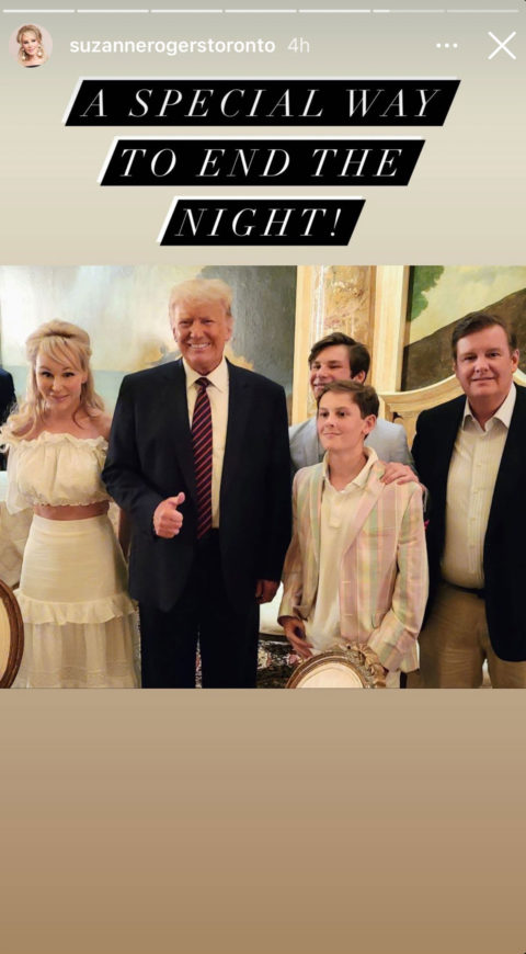 Suzanne Rogers Donald Trump Photograph at Mar-a-Lago Causes Fallout